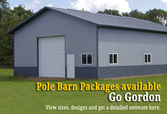Pole Barn Packages Available